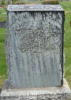 Mabel Lawrence <i>Tucker</i> Geary