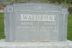 Ann <i>Dewhurst</i> Waldron