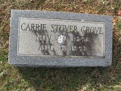 Carrie <i>Stover</i> Grove
