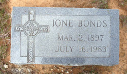 Ione Starr <i>Conner</i> Bonds