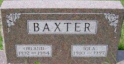 Iola Barbara <i>Johnson</i> Baxter