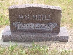 Ella Anna <i>Schultz</i> MacNeill