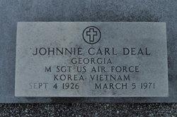 Sgt Johnnie Carl Deal