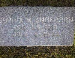 Sophia Marie <i>Ott</i> Anderson