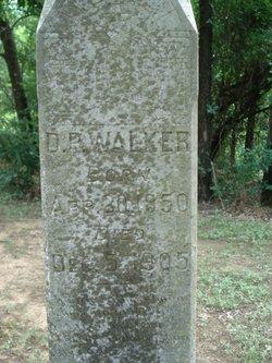 D. P. Walker