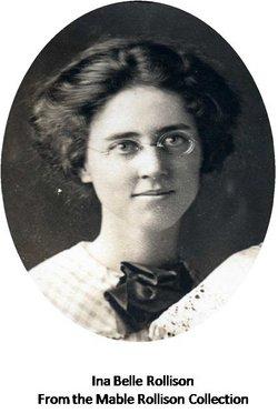 Ina Belle <i>Rollison</i> Vos