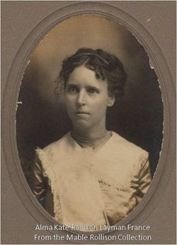 Alma Kate <i>Rollison</i> France
