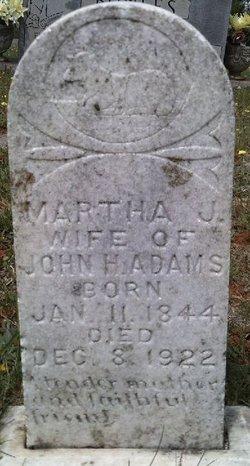 Martha Jane <i>Slaughter</i> Adams