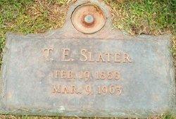 Thomas Earnest Slater