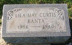 Lillian May <i>Curtis</i> Banta