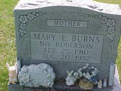 Mary Ellen <i>Roberson</i> Burns