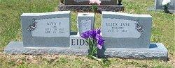Alvy F Eidson