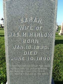 Sarah <i>Halstead</i> Marlow
