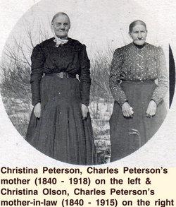 Christina Marie Stina <i>Evas'dtr</i> Petersson