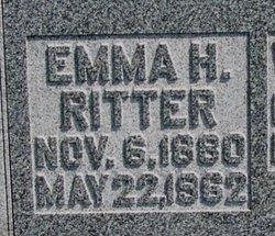 Emma H <i>Ritter</i> Schulz
