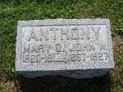 Mary O Anthony