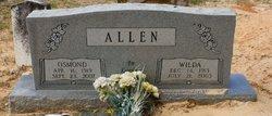 Wilda Mae <i>Reed</i> Allen