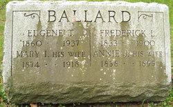 Ann J <i>Campbell</i> Ballard