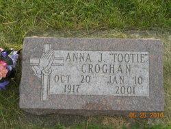 Anna J Tootie Croghan