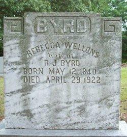 Rebecca <i>Wellons</i> Byrd