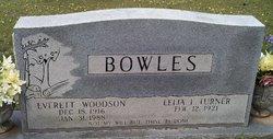 Lelia L. <i>Turner</i> Bowles