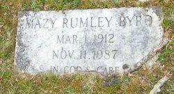 Mazy <i>Rumley</i> Byrd