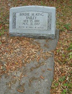 Birdie May <i>King</i> Bailey
