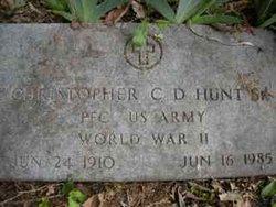 Christopher C D Hunt, Sr