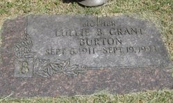 Lullie B <i>Grant</i> Burton