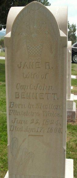 Jane <i>Roberts</i> Bennett