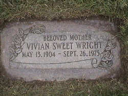 Vivian Eleanor <i>Sweet</i> Wright