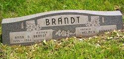 Anna Dorothy <i>Michaels</i> Brandt