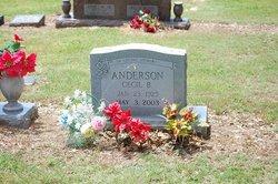 Cecil B Anderson