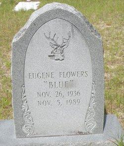 Eugene Blue Flowers