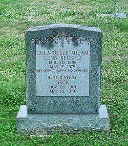 Lula Belle <i>Milam</i> Beck