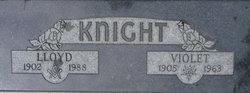 Lloyd F Knight