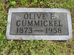 Olive Eugenia <i>Crane</i> Cummickel