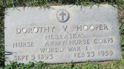 Dorothy V Hooper