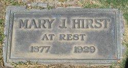 Mary J Hirst