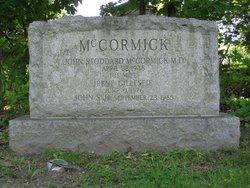 John Stoddard McCormick, Jr