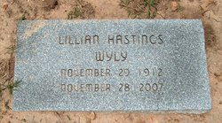 Lillian <i>Hastings</i> Wyly