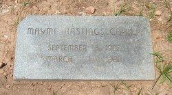 Mayme Starr <i>Hastings</i> Carter