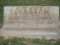 Mary E. <i>Crouse</i> Brogdon