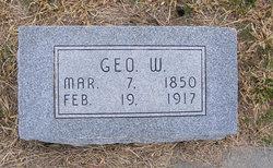 George W Hudson