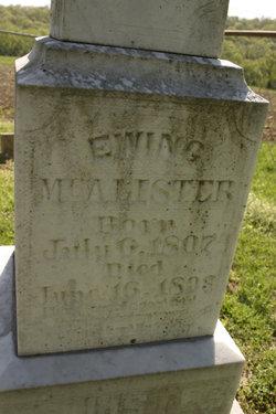 Ewing McAlister