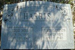 Addie Nola <i>Cochran</i> Harris