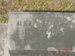 Alice Inez Goff