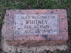 Dr Caleb Boyington Whitney