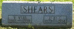 William Webster Webb Shears