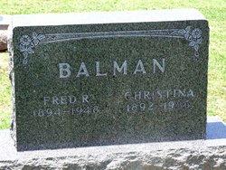 Fred Richard Balman